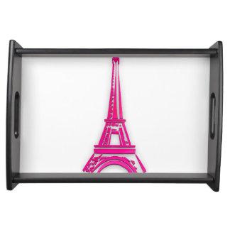 Bandeja 3d torre Eiffel, clipart de France