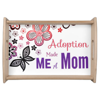 Bandeja A adopção fez-me uma mamã