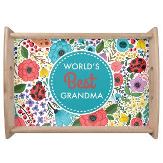 Bandeja A melhor avó do mundo