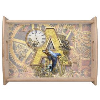 Bandeja Alfabeto, monograma A