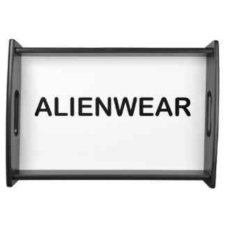 Bandeja Arte de AlienWear