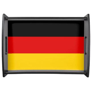 Bandeja Bandeira de Alemanha ou da alemanha
