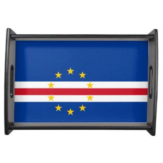 Bandeja Bandeira de Cabo Verde