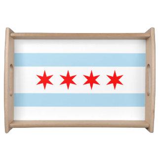 Bandeja Bandeira de Chicago, Illinois