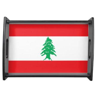 Bandeja Bandeira de Líbano