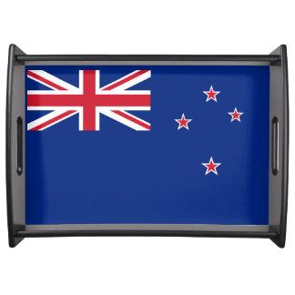 Bandeja Bandeira de Nova Zelândia