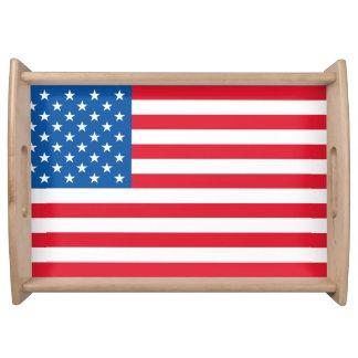 Bandeja Bandeira dos Estados Unidos da bandeira dos EUA