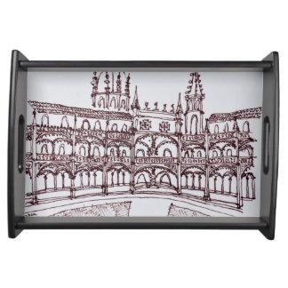 Bandeja Claustro | Lisboa do monastério de Jeronimos,