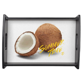 Bandeja Coco do tempo do verão
