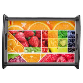 Bandeja Colagem da fruta da mistura