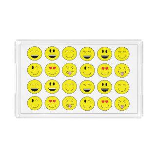 """Bandeja da vaidade de """"Emojis"""""""