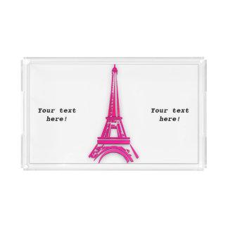Bandeja De Acrílico 3d torre Eiffel, clipart de France