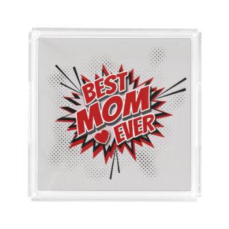 Bandeja De Acrílico A melhor mamã nunca