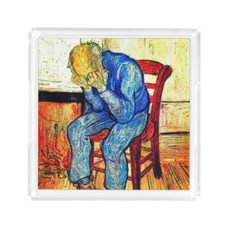 Bandeja De Acrílico Ancião Sorrowing Van Gogh