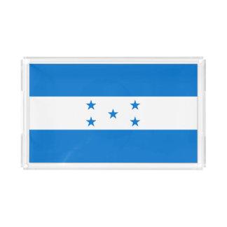 Bandeja De Acrílico Bandeira de Honduras