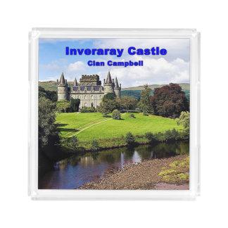 Bandeja De Acrílico Castelo de Inveraray - clã Campbell