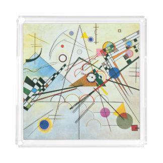 Bandeja De Acrílico Composição VIII por Wassily Kandinsky