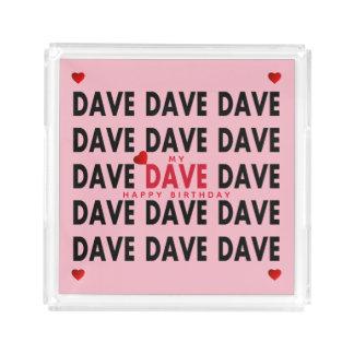 Bandeja De Acrílico Dave