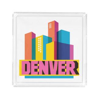 Bandeja De Acrílico Denver no design