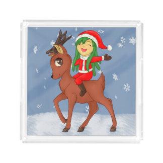 Bandeja De Acrílico Elogio do Natal