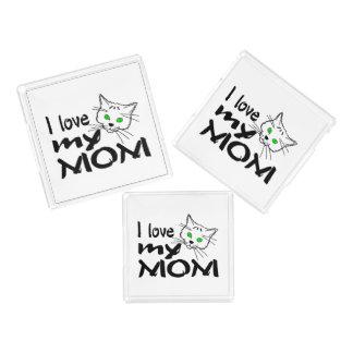Bandeja De Acrílico Eu amo minha mamã