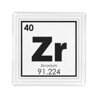 Bandeja De Acrílico Formul da química do símbolo do elemento químico