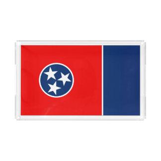 Bandeja De Acrílico Gráfico dinâmico da bandeira do estado de