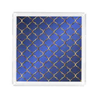 Bandeja De Acrílico Mosaico moderno do Arabesque do estilo do vintage