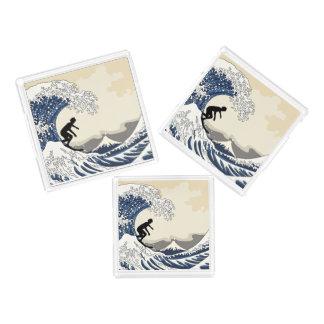 Bandeja De Acrílico O grande surfista de Kanagawa