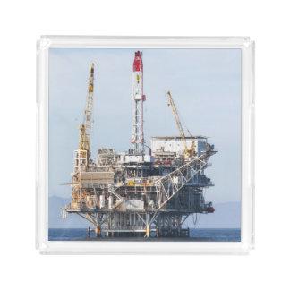 Bandeja De Acrílico Plataforma petrolífera