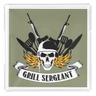 Bandeja De Acrílico Sargento da grade