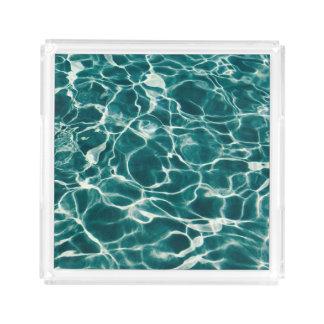Bandeja De Acrílico Teste padrão da água da piscina