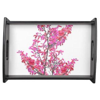 Bandeja Design floral bonito colorido