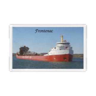 Bandeja do acrílico de Frontenac