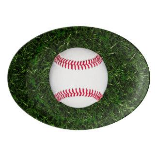 Bandeja do oval do basebol