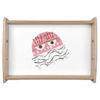 Bandeja do pente das medusa