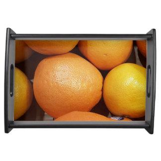 Bandeja do serviço da fruta
