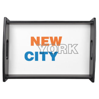 Bandeja do serviço da Nova Iorque