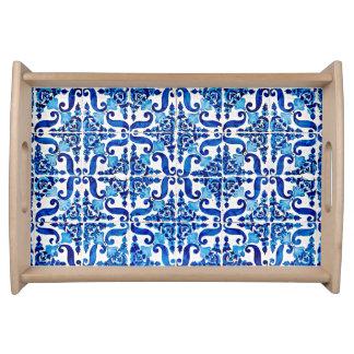 Bandeja do serviço de Azulejo do português