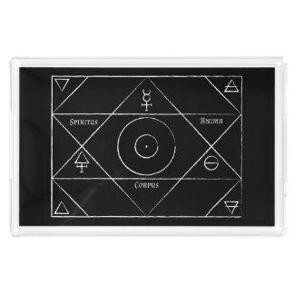 Bandeja do serviço do corpus do Anima de Spiritus