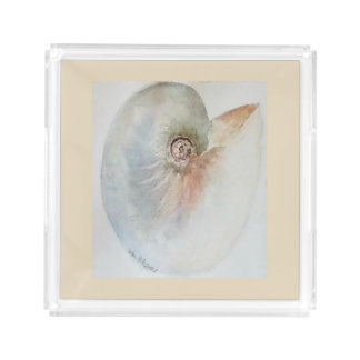 Bandeja do serviço do Seashell