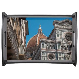 Bandeja Domo de Florença ou de Firenze Italia