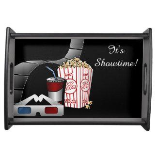 Bandeja É Showtime! Tira & pipoca do filme de filme