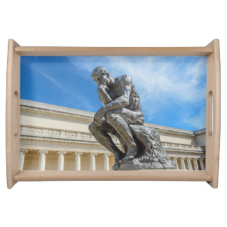 Bandeja Estátua do pensador de Rodin