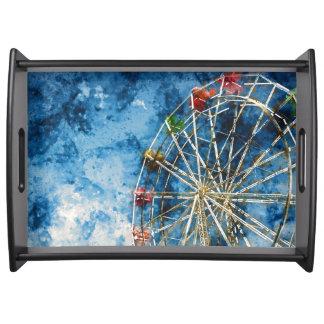 Bandeja Ferris roda dentro Santa Cruz Califórnia