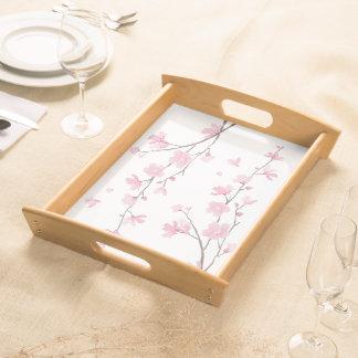 Bandeja Flor de cerejeira - fundo transparente