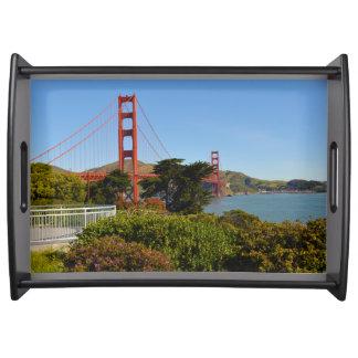 Bandeja Golden gate bridge em San Francisco Califórnia