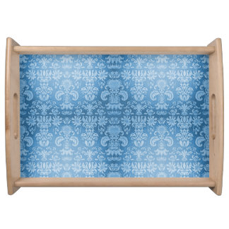 Bandeja Harmonia Blue* - Damask-Small_Accessories_Tray ""