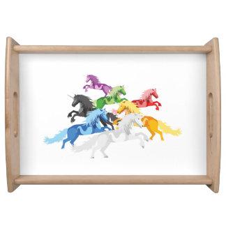 Bandeja Ilustração Unic selvagem colorido