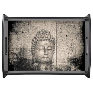 Bandeja Ioga do budismo de Buddha do vintage